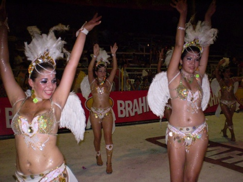 Karnevalsumzug 2009 in Villarrica